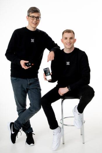Das NumberX-Gründerteam: Matthias Seiderer (l.) und Claudio Wilhelmer (r.). <Q>NumberX
