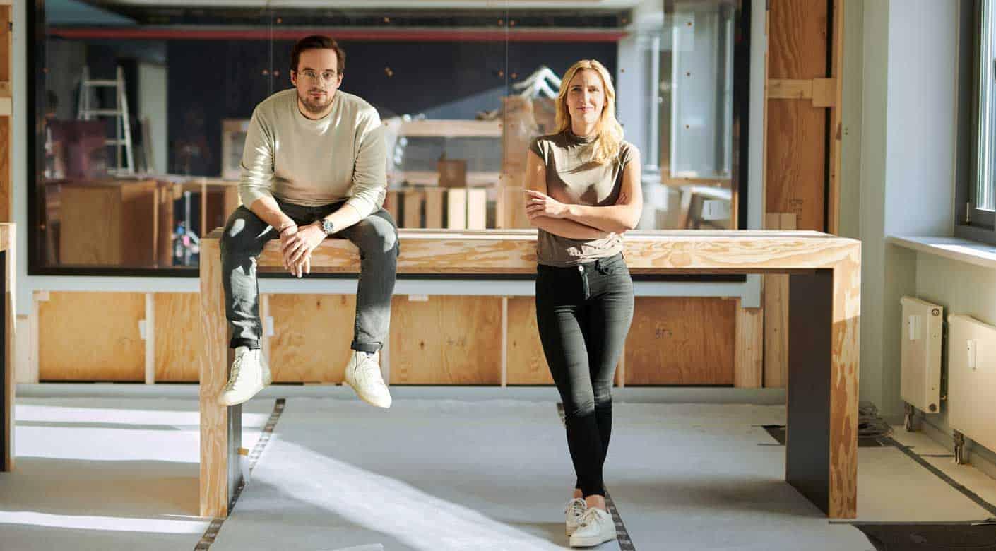 Sparkassen Innovation Hub: Milena Rottensteiner und Janosch Krug