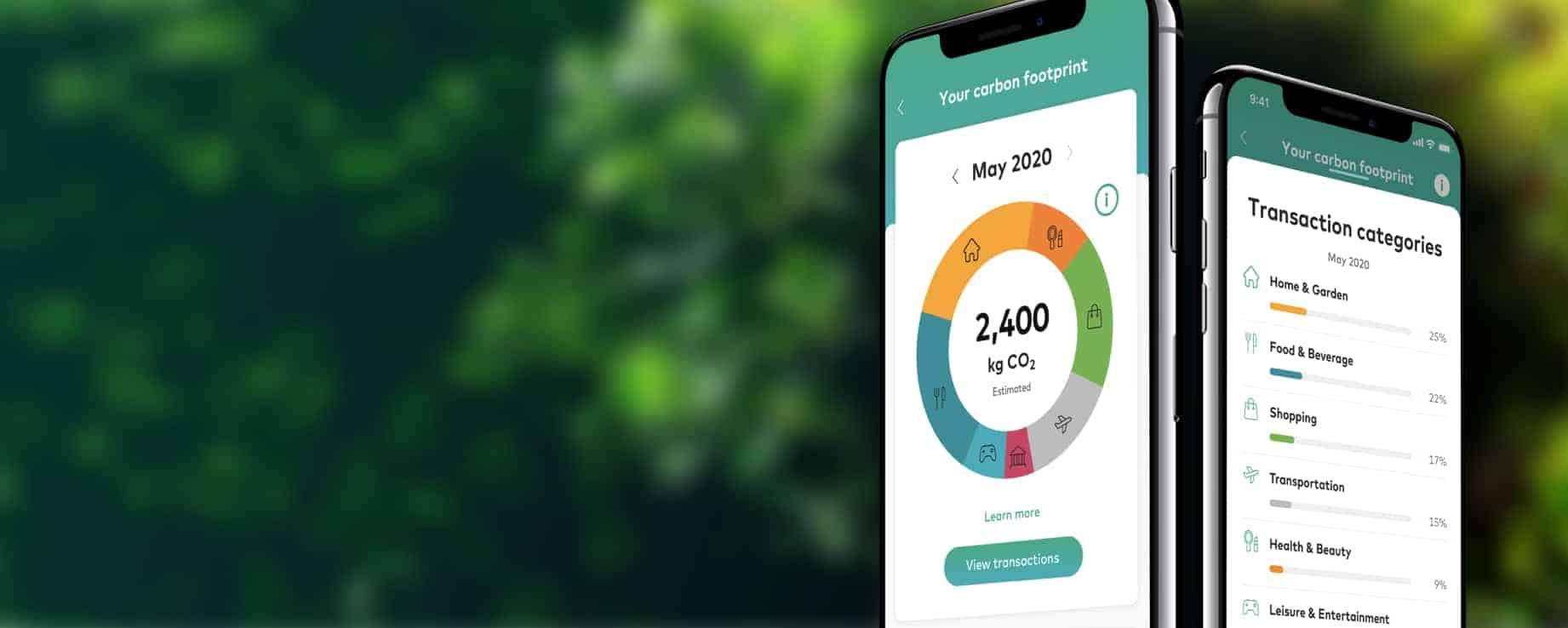 Wie viel CO2 habe ich diesen Monat produziert – und was kann ich dagegen tun? Der CO2-Rechner von Mastercard gibt Antworten. <Q>Mastercard