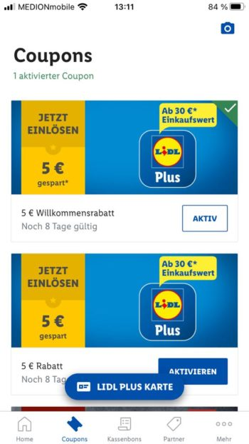 Lidl Pay Coupons