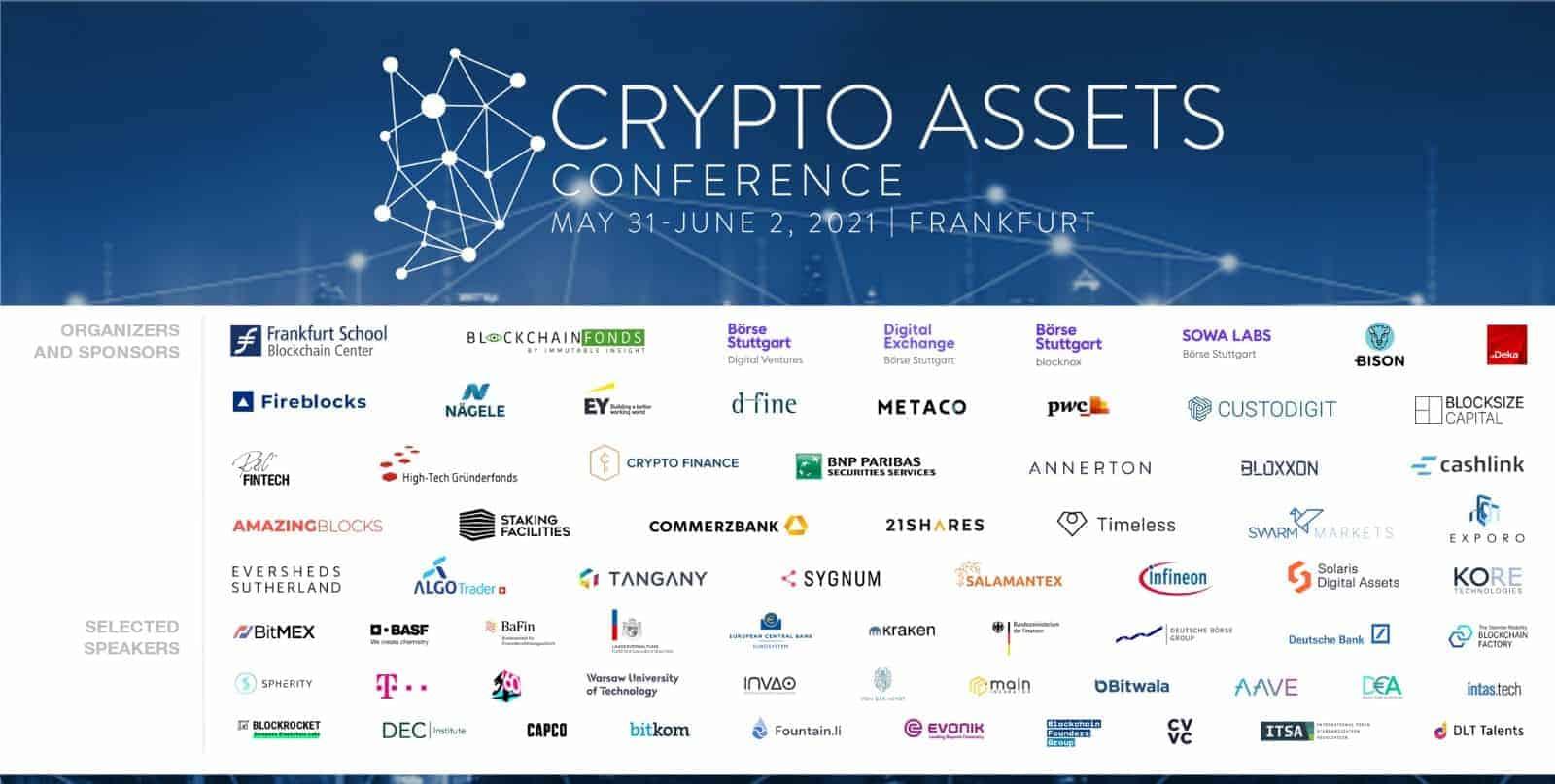 CAC21A: Kostenlos zur Online-Crypto-Assets-Conference des Frankfurt School Blockchain Center
