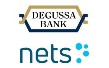 Degussa Bank und Nets wollen gemeinsam Consumer-Produkte in Deutschland auf den Markt bringen – allerdings erst 2022. <Q>Degussa Bank, Nets