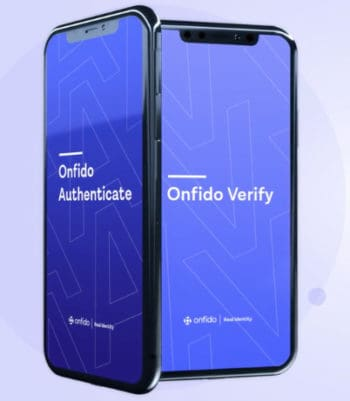 Face Authenticate und Verify von Onfido