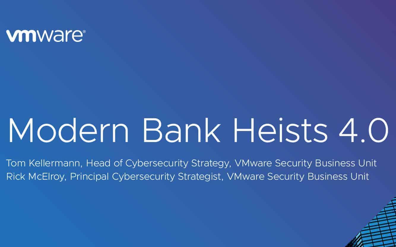 Die Sicherheitslage bei Banken hat VMware in diesem Jahr zum vierten Mal erforscht. <Q>VMware