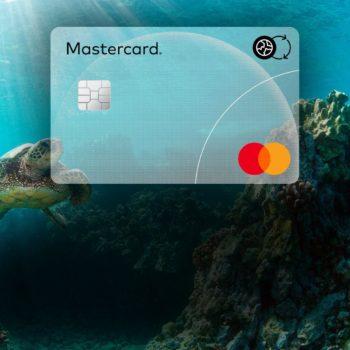 Umweltfreundlichen Karten von Mastercard