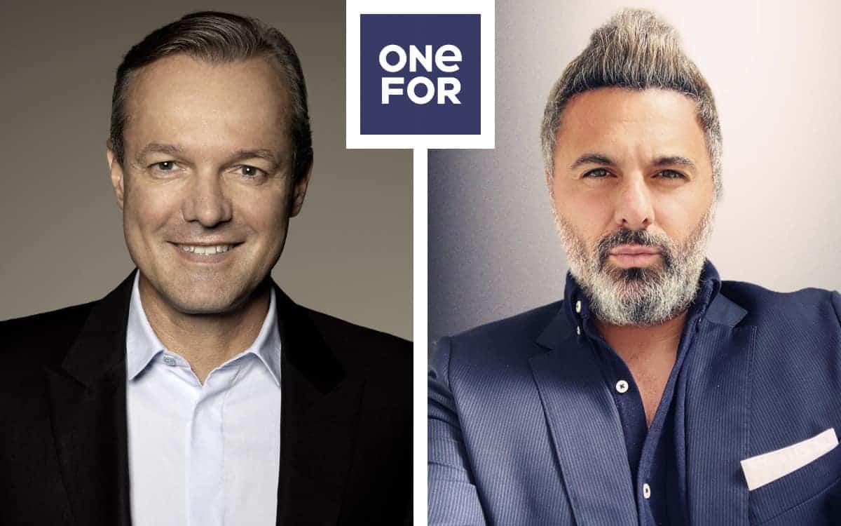 Marco Abele und Fatih Bektas sind die führenden Köpfe des neuen Fintechs OneFor. <Q>OneFor