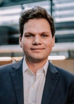 Dominik Schütz, Leiter Stuttgart Financial und Gründer der fintogether-Initiative