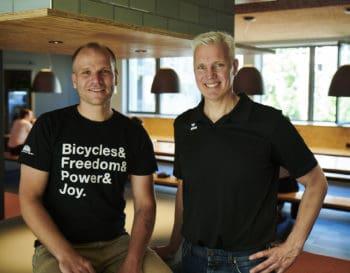 Die wallis-Geschäftsführer Martin Schaffranski (li.) und Martin Tobies (re.) <Q>Star Finanz