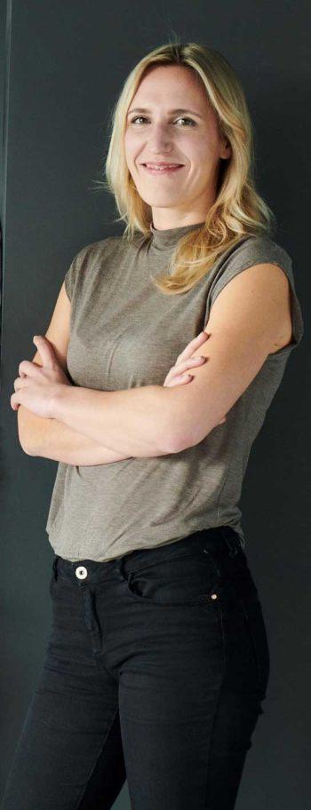 Milena Rottensteiner , Chefin im S-Hub