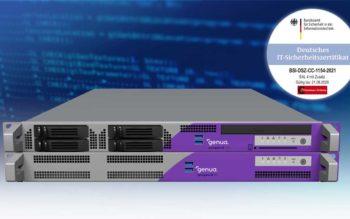 Die genugate- Firewall (genua) ist vom BSI nach Common Criteria EAL4+ (CC EAL4+) zertifiziert worden. Erstmals samt Patch-Management.