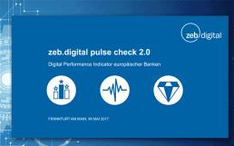 """Digitalisierungs-Studie: Laut ZEB seien die europäischen Banken ohne """"Digital Leader"""""""